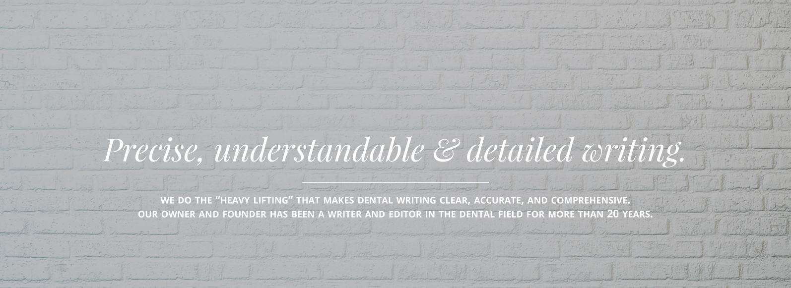 dental essay